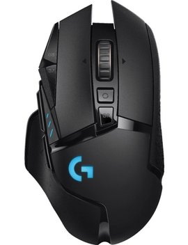 G502 Lightspeed Wireless Optical Gaming Mouse With Rgb Lighting   Black by Logitech