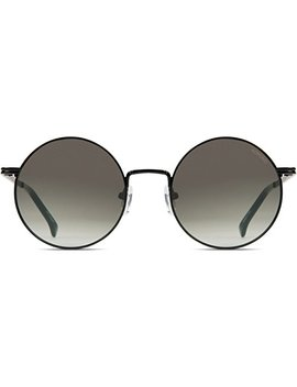 Komono Crafted Lennon Sunglasses In Black/Green by Komono