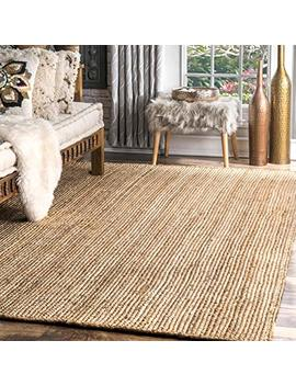 nuloom-handwoven-rigo-jute-rug,-8-x-10,-natural by nuloom