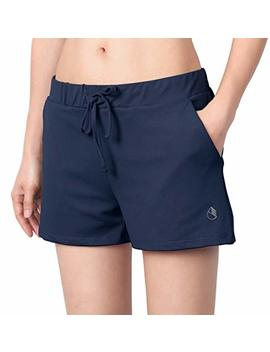 Icyzone Running Workout Shorts For Women   Gym Yoga Exercise Athletic Shorts With Pockets by Icyzone
