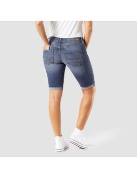 Denizen® From Levi's® Women's Modern Skinny Jean Shorts   Medium Wash by Medium Wash