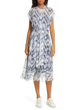 dremah-silk-midi-dress by club-monaco
