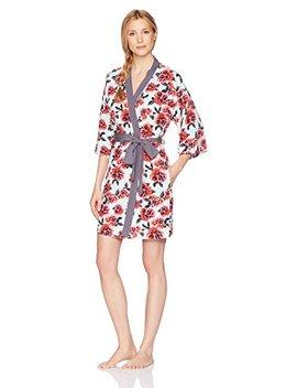 Mae Women's Printed Kimono Robe by Mae