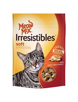 Meow Mix Irresistibles Soft Cat Treats With Real White Meat Chicken, 3 Oz by Meow Mix