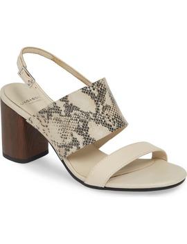 Shoemakers Carol Snake Print Sandal by Vagabond