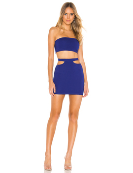 Solana Bandeau Skirt Set by Superdown