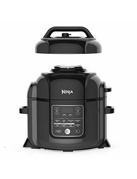 Ninja Op401 Foodi 8 Quart Pressure, Steamer, Air Fryer All In  All In One Multi Cooker, Black/Gray by Ninja