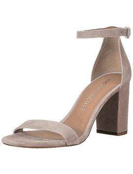 206 Collective Women's Loyal Block Heel Dress Sandal High Heeled by 206 Collective