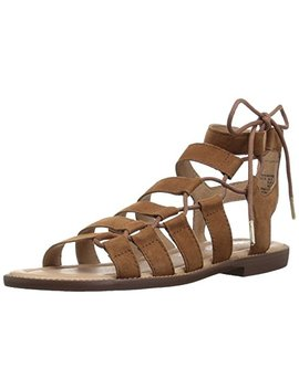 206 Collective Women's Myrtle Gladiator Fashion Sandal Flat by 206 Collective