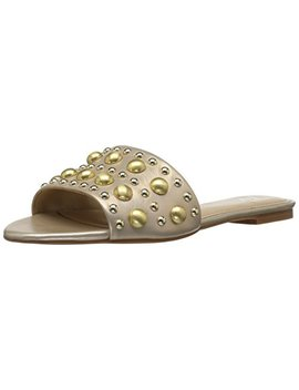 The Fix Women's Finley Dome Stud Slide Sandal by The Fix