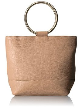 The Fix Sienna Mini Lthr Bucket Bag O Ring Handle by The Fix