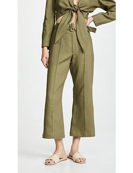 Belted Pants by Lisa Marie Fernandez