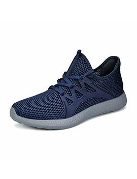 Qansi Womens Running Shoes Breathable Lightweight Walking Fashion Sneakers by Qansi