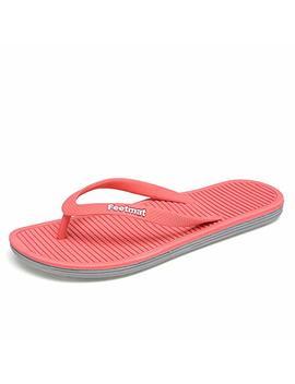 Qansi Unisex Athletic Flip Flops Thong Sandals by Qansi