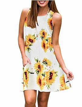 luranee-womens-casual-sleeveless-dresses-knee-length-tunic-dress-with-pockets by luranee