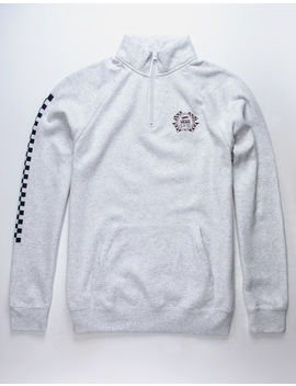 Vans Check It Quarter Zip Mens Sweatshirt by Vans