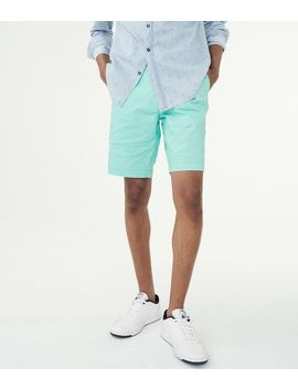 "triangle-dot-stretch-95""-chino-shorts*** by aeropostale"
