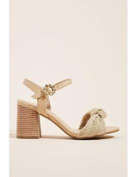 Raphaella Booz Jute Heeled Sandals by Raphaella Booz