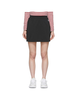 Black Sc Miniskirt by Adidas Originals