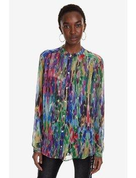 Camisa Cuello Mao De Colores Brasil by Desigual