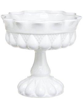 Rosanna Decor Bon Bon Footed Round Bowl White by Rosanna