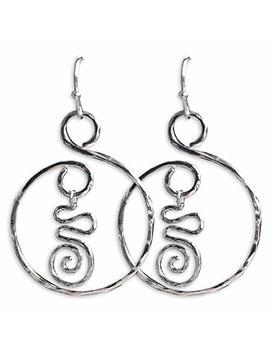 Sterling Silver Fashion Earrings By Dazzi Deb Handmade Designs Usa by Dazzi Deb