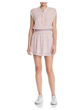 Angelina Striped Smocked Dress by Rails