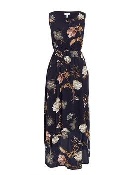 *Blue Vanilla Navy Hi Low Maxi Dress by Dorothy Perkins