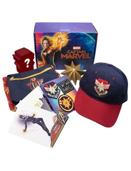 Culturefly Captain Marvel Collectors Box by Marvel