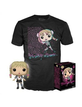 Funko Pop! Collectors Box: Britney Spears Pop! & Tee   Black (Exclusive) by Black (Exclusive)
