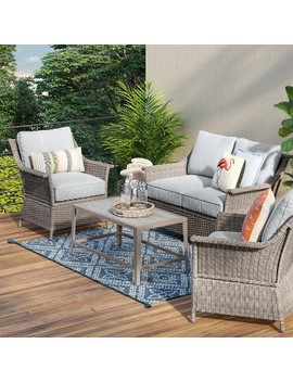 Foxborough 4pc Patio Conversation Set   Threshold by Threshold