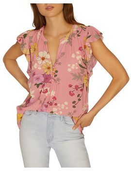 Paloma Floral Print Top by Sanctuary