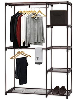 Simple Houseware Freestanding Clothes Garment Organizer Closet, Bronze by Simple Houseware