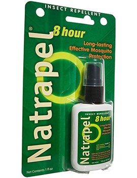 Natrapel Mosquito, Tick And Insect Repellent, 1 Fluid Ounce Pump, 12 Count by Natrapel