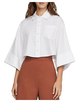 Boxy Cropped Shirt by Bcbgmaxazria