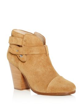 Women's Harrow Suede High Block Heel Booties by Rag & Bone