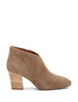 Women's Emiliana Weatherproof Crossover Block Heel Booties by Aquatalia