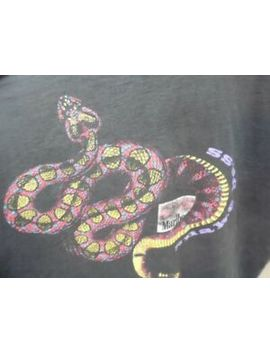 Men's Vintage Distressed Marlboro Adventure Team Snake Pass T Shirt Xl(I862) by Fruit Of The Loom