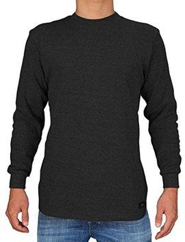 Knocker Men's Heavy Weight Waffle Pattern Thermal Shirt by Knocker