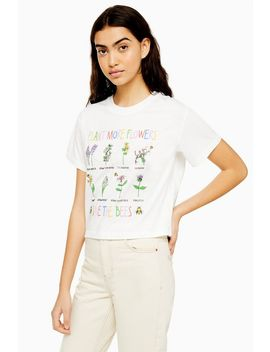 'save The Bees' T Shirt By Tee & Cake by Topshop