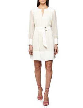 finn-long-sleeve-belted-dress by reiss