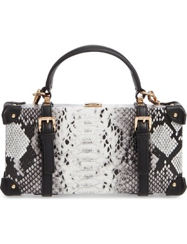 snake-print-faux-leather-shoulder-bag by like-dreams