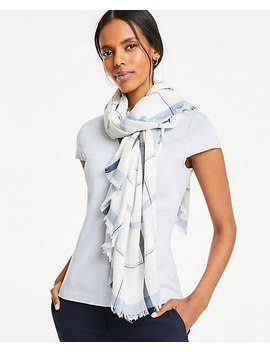 Plaid Square Scarf by Ann Taylor