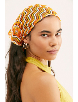 Chica Zig Zag Triangle Bandana by Free People