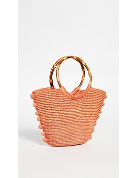 Toquilla Straw Bag by Sensi Studio