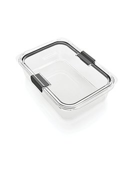 Rubbermaid Brilliance Food Storage Container, 100 Percents Leak Proof, Large, 9.6 Cup by Rubbermaid