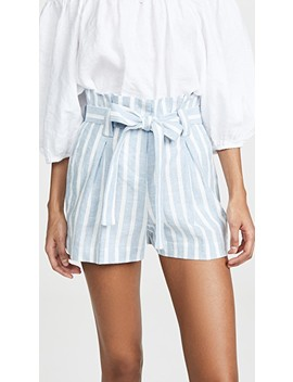 Alex Paperbag Shorts by L'agence