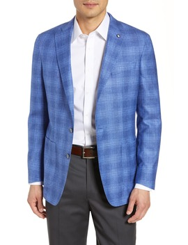Amalfi Soft Plaid Sport Coat by Peter Millar Collection