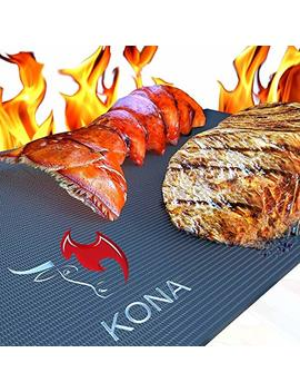 "Kona Xl Best Grill Mat   Bbq Grill Mat Covers The Entire Grill   Premium Non Stick 25""X17"" by Kona"