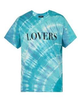 Lovers Print Tie Dye T Shirt by Amiri